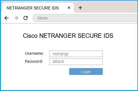 Cisco NETRANGER SECURE IDS router default login